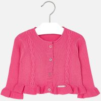 Cardigan Gracey rosa front