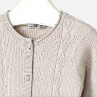 Cardigan Gracey beige zoom
