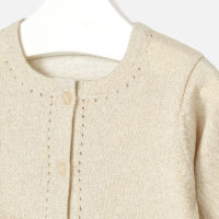 Cardigan Angela beige zoom