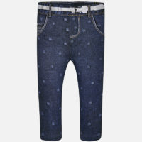 Leggings Robertina denim front