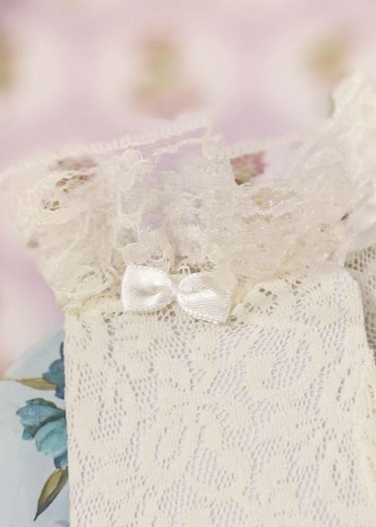 Lace Gloves ivory zoom