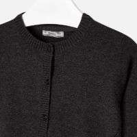 Cardigan Moira charcoal zoom